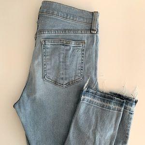 Rag & Bone High Rise Skinny Jean